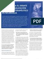 Aportes para el debate sobre la penalización del aborto terapéutico en Nicaragua  Autor  Ipas Central America