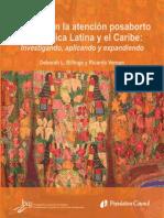 Avances en la atención posaborto en América Latina y el Caribe