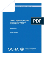 GELSDORF Global Challenges Policy Brief Jan 201010