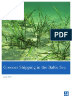 Greener Shipping Baltic Sea