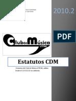 Estatutos CDM V3.1