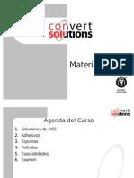 Presentación de materiales 2012