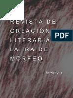 Revista de creación literaria La Ira de Morfeo