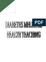 Health Teaching English