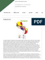 PARAGUAY _ Pueblos Originarios en América
