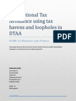 Tax Havens & DTAA