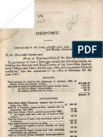 Report of the Office of the Secretary of Iowa State Agricultural College and Farm, 1863