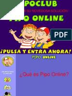 Pipo Online Presentacion 2012