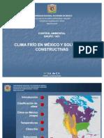 PRESENTACION CLIMA FRÍO EN MÉXICO