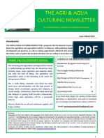Agriculture Newsletter March 2012
