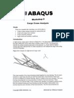 Abaqus for Offshore Structure-Cargo Crane Analysis