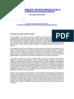 MANEJO DEL AMBIENTE Y RIESGOS AMBIENTALES EN LA REGIÓN FRESERA DEL ESTADO DE MÉXICO