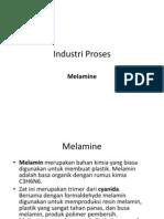 Industri Proses Melamine