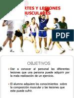 Deportes y Lesiones Musculares