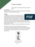 Historia de La Rehabilitacion Fisica en America Latina
