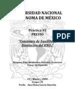 PREVIOPractica 5 Constante de Equilibrio Disolucion Del KNO3