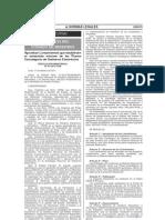 NORMA_0_RESOLUCIÓN MINISTERIAL Nº 61-2011-PCM