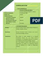 Curriculum Vitae Lic Xochihua