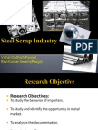 Final Ppt Steel Project Vishal Dadhich