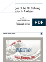 Aftab_husain Challenges of the Oil Refining Sector in Pakistan