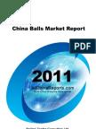 China Balls Market Report