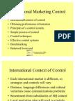 Control - International Markets 14