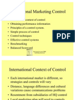 Control - International Markets 14