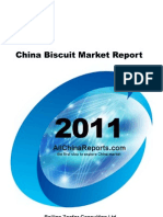 China Biscuit Market Report