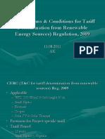 CERC Regulation Renewable Electricity