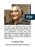 eBook - Real story behind Army Chief Gen VK Singh's age row