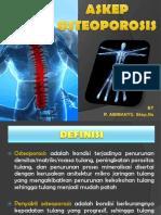 Askep osteporosis
