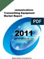 china communications transmitting equipment market report…