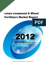China Compound Mixed Fertilizers Market Report