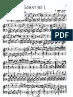 Diabelli:4 Sonatines Op151