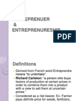 29164917 Entrepreneurship PPT