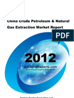 China Crude Petroleum Natural Gas Extraction Market Report