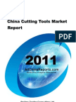 China Cutting Tools Market Report