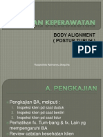 Askep Body Alignment