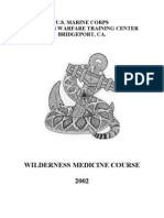 -- Survival Wilderness Medicine Course