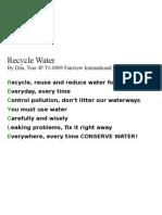 FIS - 4F Water Poem -- Hanandita0809