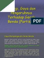Slide Kuliah 3a (Energi,Gaya Dan Gerak Benda)