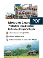 Mindoro Campaign_Protecting Island Ecology Defending People's Rights_January 2012