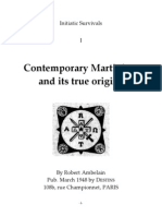 2446970 eBook Martinismo EnG Ambelain Robert Contemporary Martinism and Its True Origins
