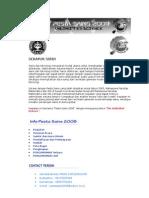 Pesta Sains IPB 2008 - Buku Panduan