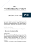 What is Research Design