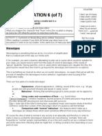 Representation - Tasksheet 2