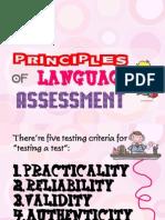 Principles of Language Assessment 1