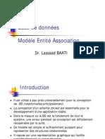 0002 Bd - Modele Entite Association