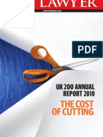 UK 200 Annual Report 2010 - The Cost of Cutting (the Lawyer Aug11)