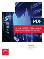 Survey of Sales Effectiveness (1)